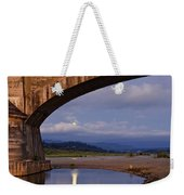 Fernbridge And The Moon Weekender Tote Bag