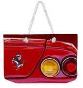 Ferrari Taillight Emblem 2 Weekender Tote Bag