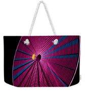 Ferris Wheel In Pink Weekender Tote Bag