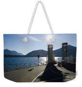 Ferry Harbour Weekender Tote Bag