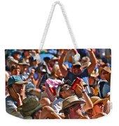 Festive Crowd Weekender Tote Bag