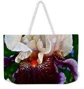 Festive Iris Weekender Tote Bag