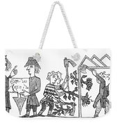 Feudalism: Village Weekender Tote Bag