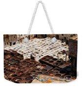 Fez Tannery Weekender Tote Bag
