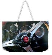 Fiat Steering Wheel Weekender Tote Bag