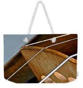Fiddle Strings Weekender Tote Bag