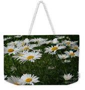 Field Daisies Weekender Tote Bag