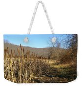 Field Of Corn Weekender Tote Bag