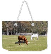 Field Of Horses Weekender Tote Bag