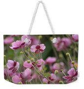 Field Of Japanese Anemones Weekender Tote Bag