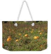 Field Of Pumpkins Weekender Tote Bag
