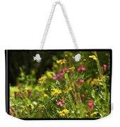 Field Of Wildflowers Weekender Tote Bag