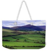 Fields From The Sugar Loaf Mountain, Co Weekender Tote Bag