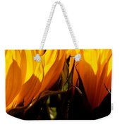 Fiery Sunflowers Weekender Tote Bag