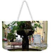 Fig Tree Fountain In Cassis Weekender Tote Bag