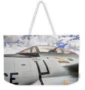 Fighter Jet Cockpit Weekender Tote Bag