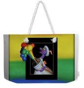 Figments Rainbow Of Colors Weekender Tote Bag