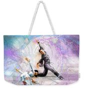 Figure Skating 02 Weekender Tote Bag