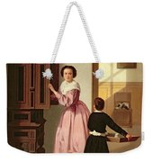 Figures In A Laundryroom Weekender Tote Bag