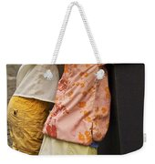 Figurines In Rural Dresses Weekender Tote Bag