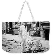 Film Still: Street Cleaner Weekender Tote Bag