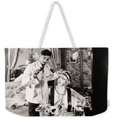 Film: The White Moth, 1924 Weekender Tote Bag by Granger