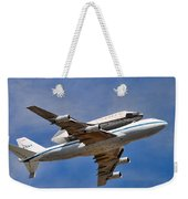 Final Flight Endeavour Weekender Tote Bag