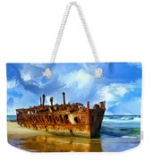 Final Resting Place Weekender Tote Bag by Dominic Piperata