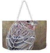 Finch Low Saturation Weekender Tote Bag