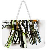 Finding The Right Key Weekender Tote Bag