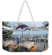 Fine Dining On The Gulf Coast Weekender Tote Bag