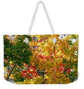 Fine Fall Foliage Weekender Tote Bag