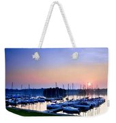 Fine Sailing Morning Coming Up Weekender Tote Bag