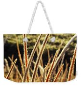 Fingers Of Frost Weekender Tote Bag
