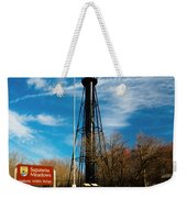 Finns Point Light Weekender Tote Bag
