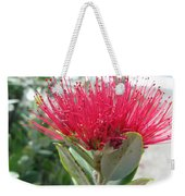 Fiore Rosso E Grasso Weekender Tote Bag