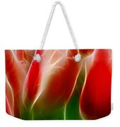 Fire And Ice Fractal Panel 1 Weekender Tote Bag
