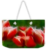 Fire And Ice Fractal Panel 2 Weekender Tote Bag