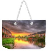 Fire And Storm Weekender Tote Bag by Yhun Suarez