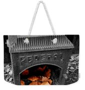 Fire Box Weekender Tote Bag