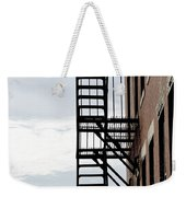 Fire Escape In Boston Weekender Tote Bag