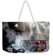 Fire Fight Weekender Tote Bag