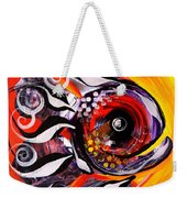 Fire Fish Four And A Half Weekender Tote Bag