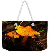 Fire In The Forest - Hygrocybe Cuspidata Weekender Tote Bag