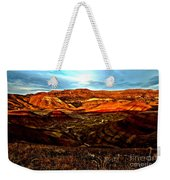 Fire In The Painted Hills Weekender Tote Bag