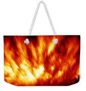 Fire In The Starry Sky Weekender Tote Bag
