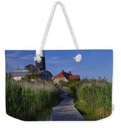 Fire Island Reflection Weekender Tote Bag