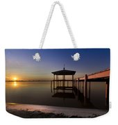 Fire Lake Weekender Tote Bag