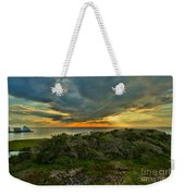 Fire Over The Outer Banks Weekender Tote Bag