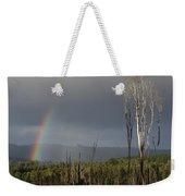 Fire Rainbow Weekender Tote Bag